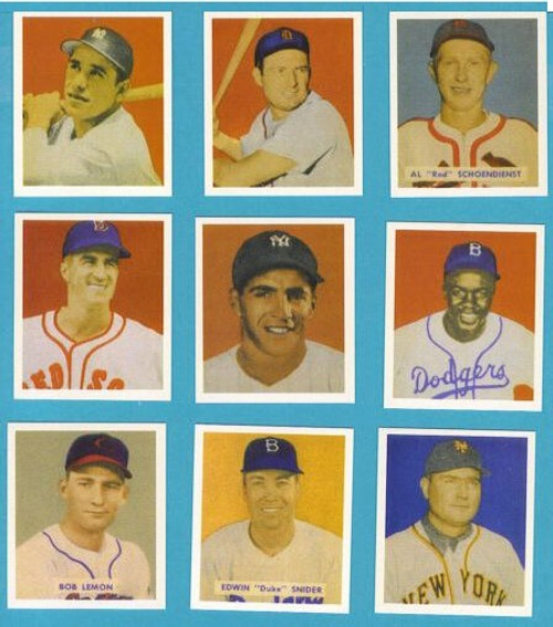 1949 Bowman Baseball Reprint Set