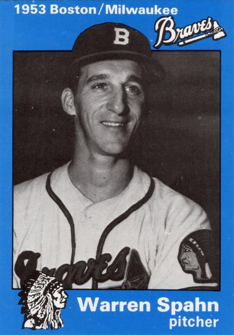 1953 Milwaukee Braves Reprint Set