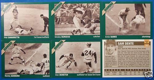 Golden Era of Baseball Diamond Action Series 1