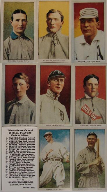 1909 E95 Philadelphia Caramels