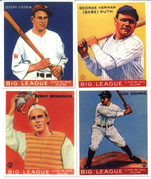 1933 Goudey Reprint Set