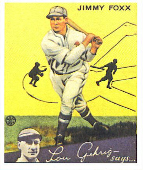 1934 Goudey Hall of Fame Reprint Set
