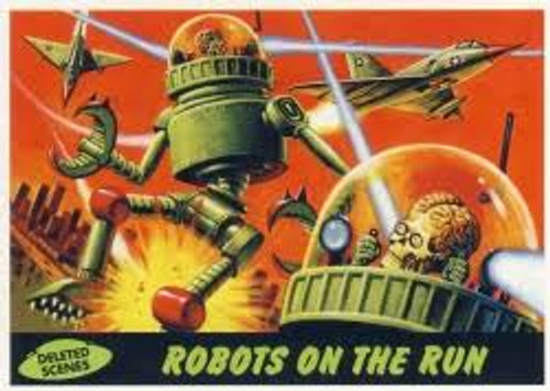 2012 Topps Mars Attacks Heritage Deleted Scenes Set