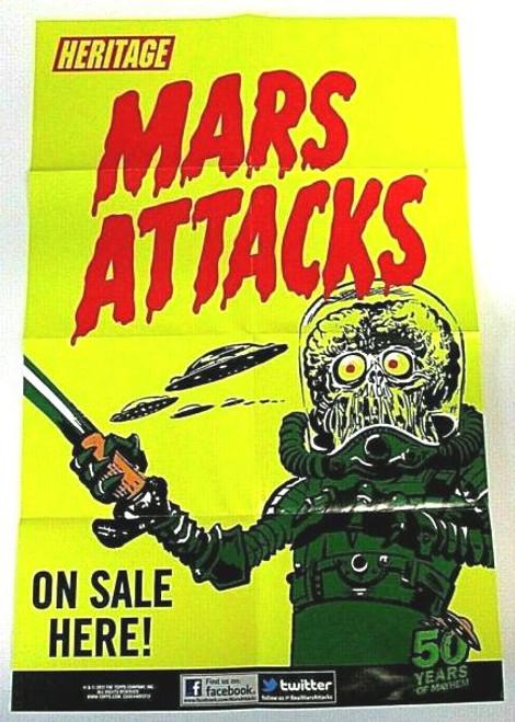 2012 Topps Mars Attacks Heritage Mini Poster
