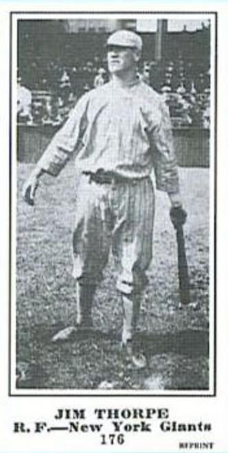 1915 M101-5 The Sporting News Reprint Jim Thorpe