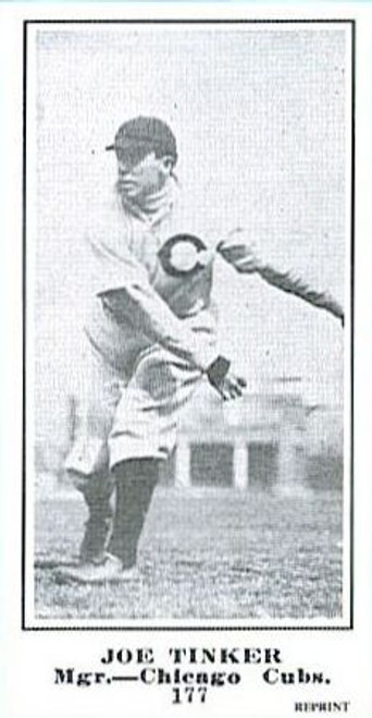 1915 M101-5 The Sporting News Reprint Tinker Evers & Chance