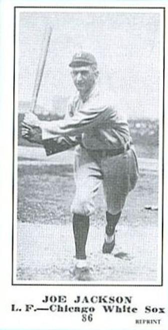 1915 M101-4 The Sporting News Reprint Joe Jackson