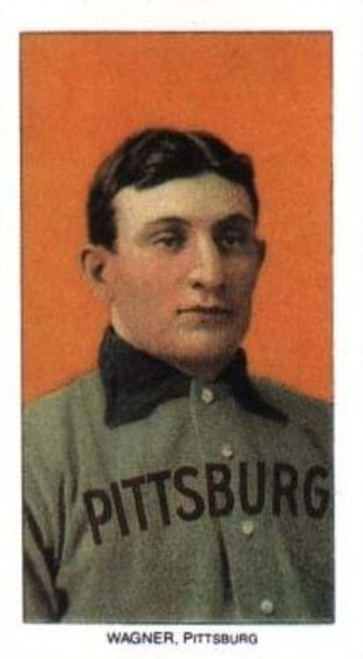 T206 Honus Wagner Single