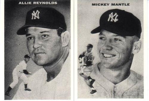 1954 New York Yankees Reprint