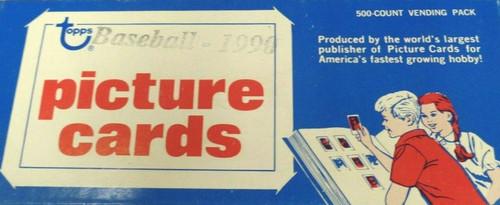 1990 Topps Baseball Vending Box