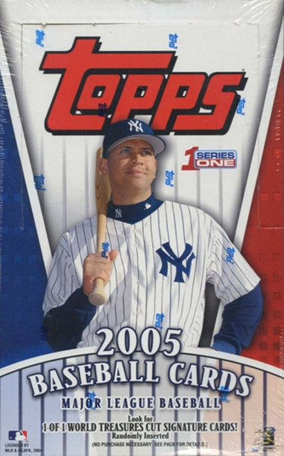 2005 Topps Series #1 Unopened Box