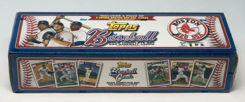 2006 Topps Baseball Red Sox Team Factory Set