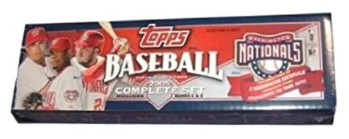 2005 Topps Baseball Nationals Team Factory Set