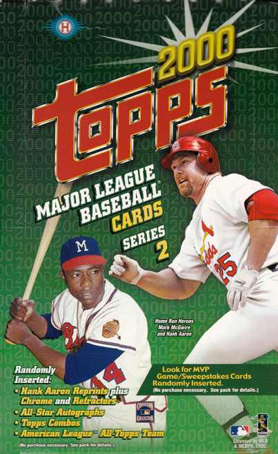 2000 Topps Series #2 Unopened Box