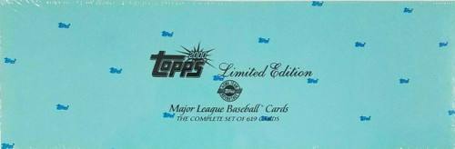 2000 Topps Baseball Limited Edition Tiffany Set