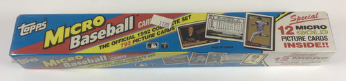 1992 Topps Micro Baseball Factory Set