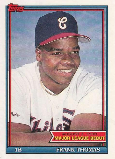 1991 Topps Major League Debut Factory Set