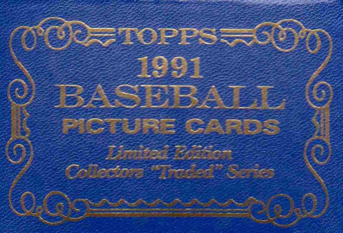 1991 Topps Baseball Traded Tiffany Set