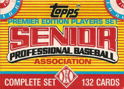 1989 Topps Senior League set