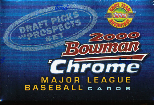 2000 Bowman Chrome Draft Set