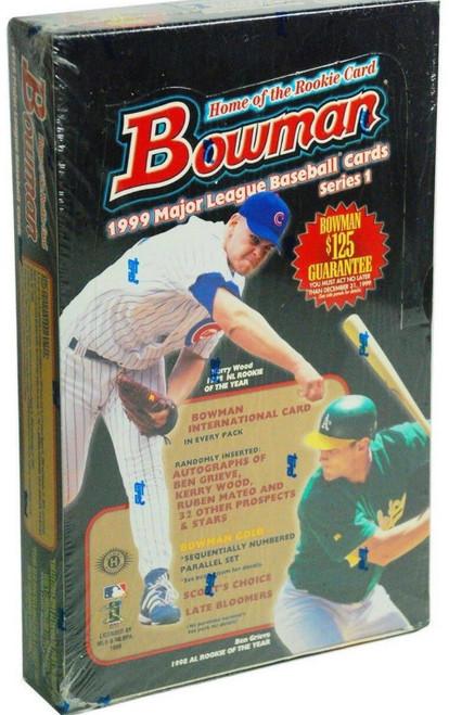 1999 Bowman Baseball Series #1 Box