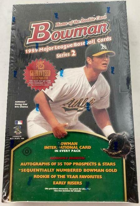 1999 Bowman Baseball Series #2 Box