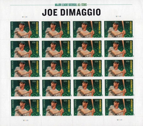 MLB All-Stars Joe DiMaggio Stamp Set