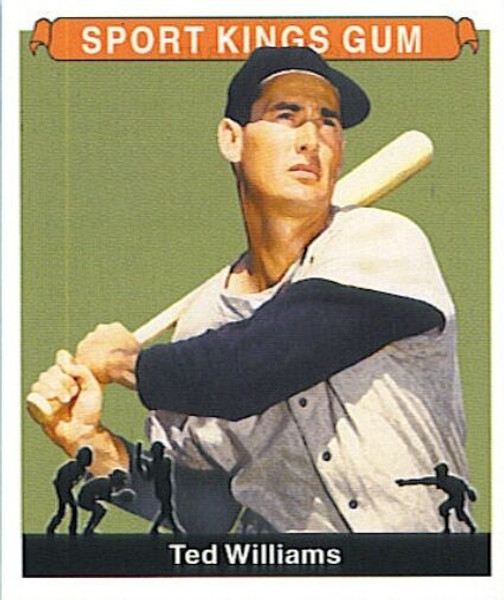 Ted Williams 2001 Sport Kings Card