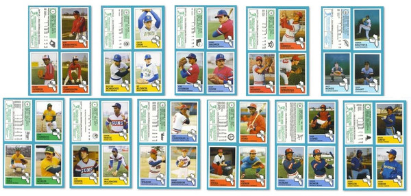 1983 Fritsch Midwest League (All 11 Teams Sets)