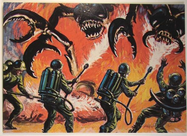 Mars Attacks Reprint 5x7 Promo Cards