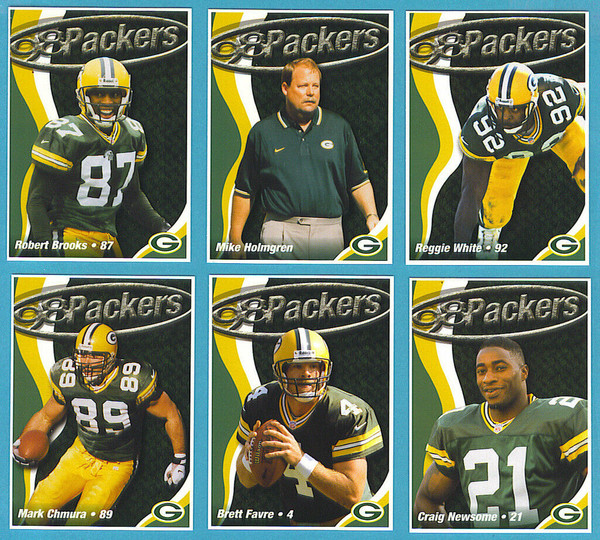 1998 Green Bay Packers Police Set