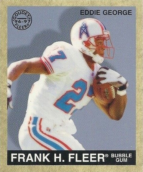 1996 Fleer Goudey Football Set