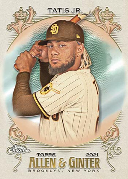 2021 Topps Allen & Ginter Chrome Hobby Box