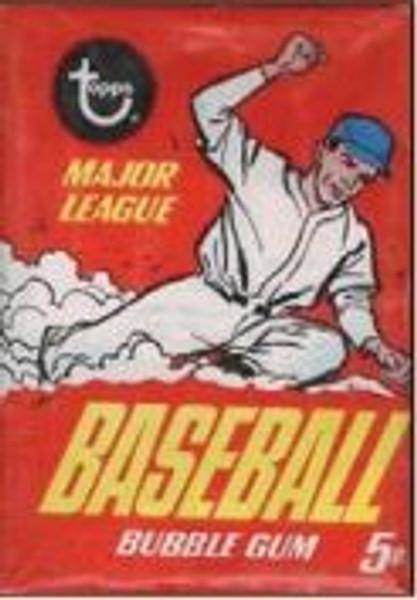 1967 Topps Baseball Wax Pack