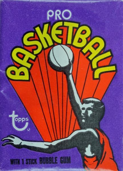 1972-73 Topps Basketball Wax Pack
