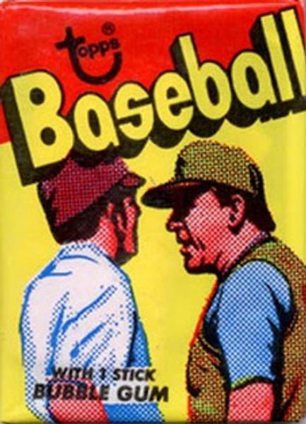 1973 Topps Baseball 4th Series Wax Pack