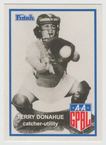"""Fritsch AAGPBL Baseball #55 Terry Donahue (from Netflix's """"A Secret Love"""")"""