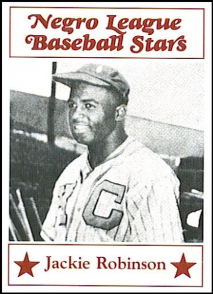 Negro League Baseball Stars Set