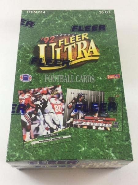 1992 Fleer Ultra Football Unopened Box