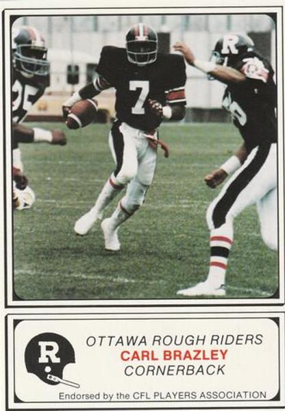 1982 Ottawa Rough Riders Team Set