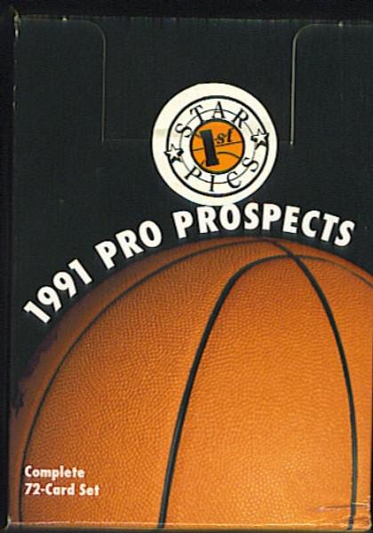 1991 Star Pics Pro Prospects Basketabll Factory Set