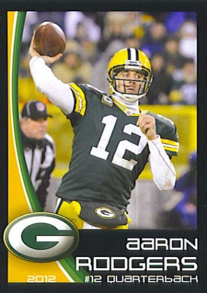 2012 Green Bay Packers Police Set