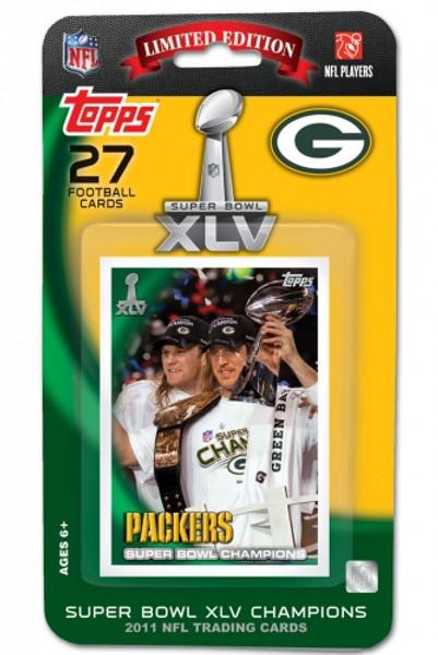 Green Bay Packers Super Bowl XLV Champions Set