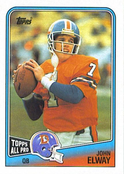1988 Topps Football Set