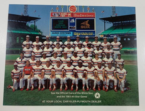 1983 White Sox Photo