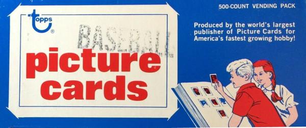 1981 Topps Baseball Vending Box