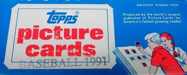 1991 Topps Baseball Vending Box