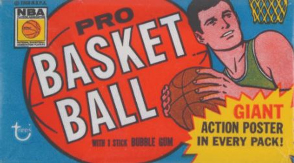 1970-71 Topps Basketball 1st Series  Wax Pack