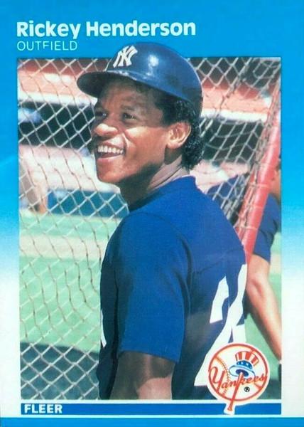 1987 Fleer Baseball Factory set