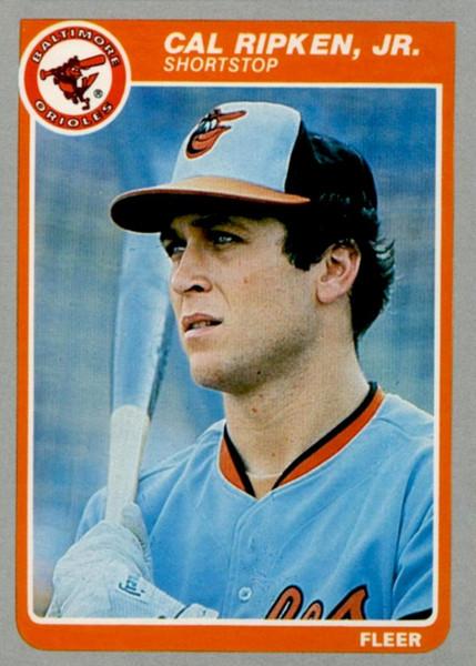 1985 Fleer Baseball Complete Set